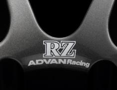 - ADVAN Racing RZ dedicated sticker between nut holes - Colour: White - Quantity: 2 - Wheel: Dark Gun metallic - Z9154