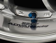- ADVAN Racing RZ-DF Rim Sticker - Colour: Dark Blue - Quantity: 2 - Wheel: Machining & Racing Hyper Silver / Machining & Racing Hyper Black - Z9850