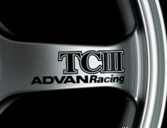 - ADVAN Racing TCIII Spoke Sticker - Colour: Dark Blue - Quantity: 2 - Wheel: Racing Hyper Silver - V0225