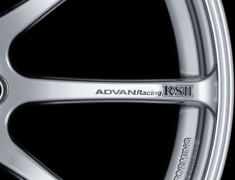 - ADVAN RS II Spoke Sticker - Colour: Dark Blue - Quantity: 2 - Wheel: Racing Hyper Silver / Racing Hyper Black - V0620