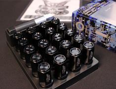 - Colour: Black - Thread: M12 x P1.5 - Length: 53mm - Quantity: 20pcs (Nut 16p & Lock 4p) - CL53-11K