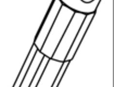 - Aluminum Cap Adapter - A133