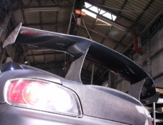 Car Garage Amis - S2000 Carbon Rear Wing