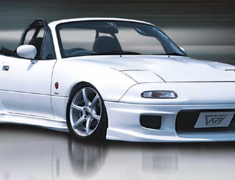 Roadster - NA6CE - Front Bumper Spoiler Type N - Material: FRP - FBS-TN