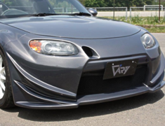 Roadster - NCEC - Front Bumper Type-N with Intake Duct - Material: FRP - 4572
