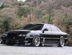 Chaser - JZX100 - 3P Kit - Front + Side + Rear - Construction: FRP - Colour: Unpainted - 02130-02134-1