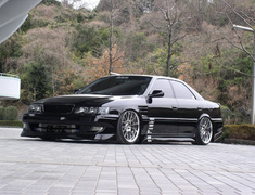 Chaser - JZX100 - Front Street Fenders (+15mm ea. side) - Construction: FRP - Colour: Unpainted - 02159
