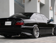Chaser - JZX100 - Rear Bumper - Construction: FRP - Colour: Unpainted - RB-JZX100