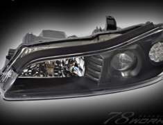 Silvia - S15 - Full LED Headlight Black - 15SILVIA