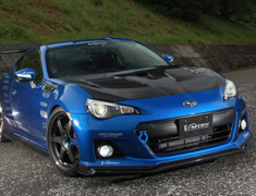 BRZ - ZC6 - Cooling Bonnet/Hood System 2 (with NACA Duct) - Construction: FRP - Colour: Unpainted - VBSU-128