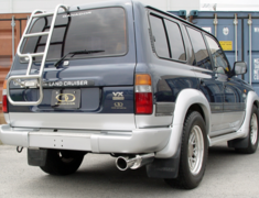 Land Cruiser - FZJ80G - 4WD Vertex SUS - Pieces: 2 - Tail Size: 120mm - Weight: - - Tail Type: Circle - GD-030