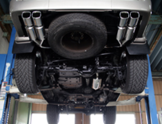 Land Cruiser - HDJ81V - 4WD Vertex SUS - Pieces: 4 - Tail Size: 105x90mm(x4) - Weight: 23.8kg - Tail Type: Square - GD-133