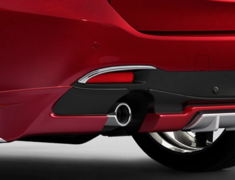 Atenza Wagon - GJ2AW - Rear Reflector Garnish - Construction: ABS - Colour: Chrome - GJ-RFG