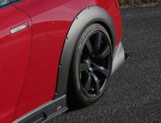 GT-R - R35 - REAR OVER FENDER 20mm WIDE EACH SIDE - Construction: Carbon - Colour: - - 000877cc