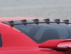 GT-R - R35 - ROOF FIN - Construction: Carbon - Colour: Clear gel buff finish - 000975c