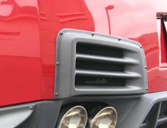 GT-R - R35 - REAR BUMPER DUCT - Construction: Carbon - Colour: - - 000976cc