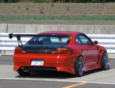 Silvia - S15 - Rear Bumper - Construction: FRP - Colour: Unpainted - GM-REV-S15-T1-RB