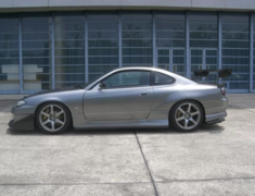 Silvia - S15 - Side Steps - Construction: FRP - Colour: Unpainted - GM-REV-S15-T2-SS