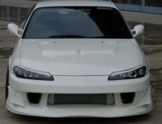 Silvia - S15 - Front Bumper - Construction: FRP - Colour: Unpainted - GM-REV-S15-T2-FB