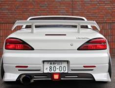 Silvia - S15 - LED Centre Back Fog Light - Construction: LED - Colour: - - GM-REV-S15-T2-LF