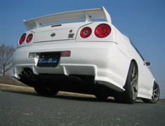 Skyline - R34 25GTT - ER34 - Construction: FRP - Colour: Unpainted - EBR34-SRUS-2DR