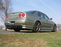 Skyline - R34 25GTT - ER34 - Construction: FRP - Colour: Unpainted - EBR34-SRUS-4DR