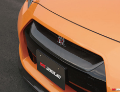 GT-R - R35 - Carbon Front Grill - Construction: Carbon - Colour: - - ZELE-GTR35-CFG