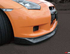 GT-R - R35 - Carbon Front Lip Spoiler - Construction: Carbon - Colour: - - ZELE-GTR35-CFLS
