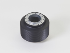 Fit - GK3  - Steering with buttons can not be used (except horn) - Milled Aluminum - 78512-GK5-000