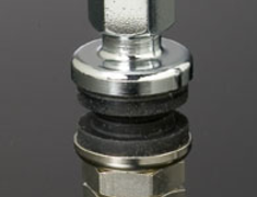 - Colour: Chrome - Quantity: 1 - Shape: 11.5mm Diameter Straight - HAYRAC-AV1