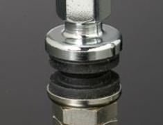 - Colour: Chrome - Quantity: 4 - Shape: 11.5mm Diameter Straight - HAYRAC-AV1S