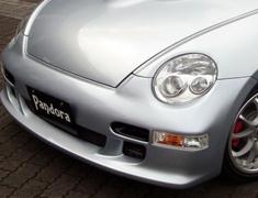 Copen - L880K - Front Bumper Spoiler - Construction: FRP - Colour: Unpainted - TYPE830-FBS