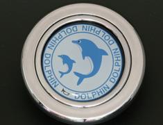 - Colour: Silver - Design: Dolphin - HS51