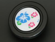 - Colour: Black - Design: Hibiscus - HB50