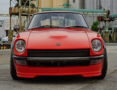 Fairlady Z - S30 - Front Spoiler - Construction: FRP - Colour: Unpainted - SF-S30Z-FSFRP