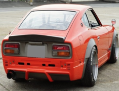 Fairlady Z - S30 - Rear Under Spoiler Type 1 - Construction: FRP - Colour: Unpainted - SF-S30Z-RUS1FRP