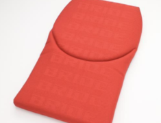 - Type: Backrest - Gias II, Stradia II - Color: Red Logo - P31ICO