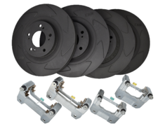 S2000 - AP1 - Set: Front & Rear - Rotor Size: 320mm - KBI4001
