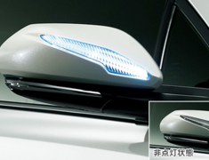 C-HR 4WD - NGX50 - LED Mirror Covers - Construction: ABS/LED - Colour: Black Mica (C0) - Colour: Metal Stream Metallic
