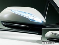 C-HR - ZYX10 - LED Mirror Covers - Construction: ABS/LED - Colour: Black Mica (C0) - Colour: Metal Stream Metallic