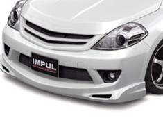 Tiida Latio - SC11 - Fromt Bumper - Construction: FRP - Colour: Unpainted - IMPSC11S2-FB