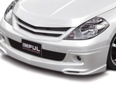 Tiida Latio - SC11 - Front Half Spoiler - Construction: FRP - Colour: Unpainted - IMPSC11S1-FHS