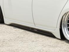Prius - ZVW30 - Side Skirts - Construction: FRP - Colour: Unpainted - BDZVW30-SS