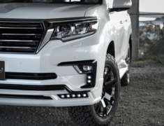 Land Cruiser - GDJ150W - Fog Lamp Garnish - Construction: FRP - Colour: Unpainted - D8PRA150L-FLG