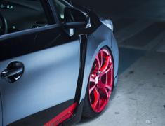 Prius - ZVW30 - F Type Wide Fenders - Construction: FRP - Colour: Unpainted - SPEZVW30-FTWF