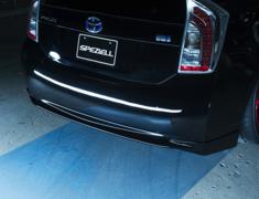 Prius - ZVW30 - Rear Lip Spoiler - Construction: FRP - Colour: Unpainted - SPEZVW30-RLS