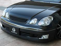 Aristo - JZS160 - Front Bumper - Construction: FRP - Colour: Unpainted - AIMJZS16#-FB