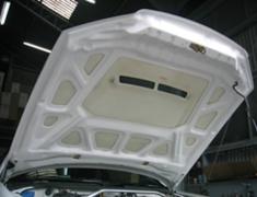 Skyline - R34 25GTT - ER34 - FRP Bonnet With Duct - Material: FRP - EBR34-CBWD