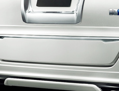 Noah - ZRR80G - Back Door Smoothing Panel - Construction: ABS - Colour: Black: C0 - Colour: Bordeaux Mica Metallic: D0 - Colour: Luxury White Pearl Crystal Shine Glass Flake: A1 - Colour: White Pearl Crystal Shine: A0 - D2646-43910-XX