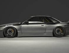 Skyline GT-R - BNR32 - Full Kit - Construction: FRP - Colour: Unpainted - TRARBR32-FK